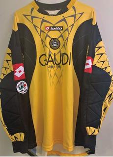 Camisa Udinese 2006/07 De Sanctis #1 Lega Calcio Rara