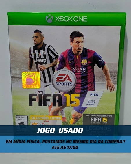 Jogo Fifa 15 Xbox One - Mídia Física Usado Em Otimo Estado