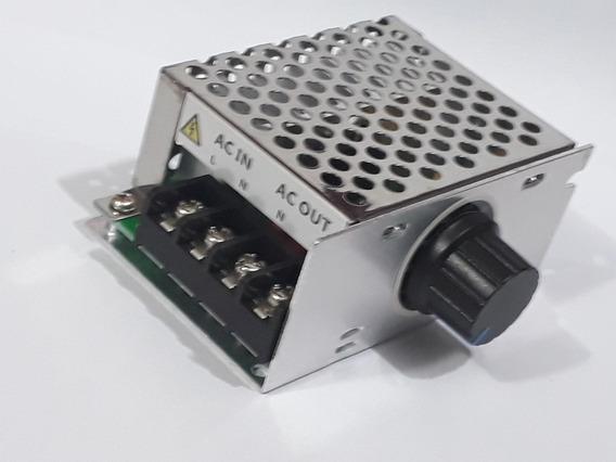 Regulador Velocidade De Motor Chave Liga/ Desliga 220v 4000w