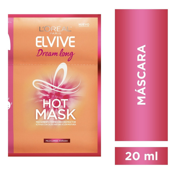 Máscara Tratamiento Dream Long Elvive L´oréal Paris X 20 Ml