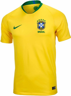 Nike Jersey Brasil Seleccion De Brasil Mundial Rusia 2018