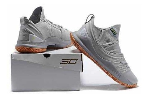Under Curry 5 Gris Gum