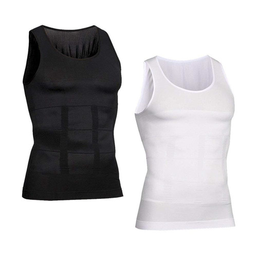 Camiseta De Hombre Faja Modeladora Reductora Slim S Al Xxl