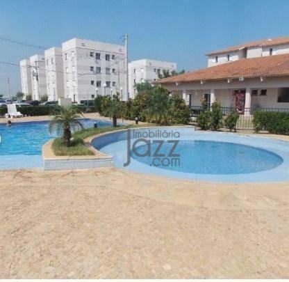 Apartamento Com 2 Dormitórios À Venda, 48 M² Por R$ 180.200,00 - Jardim Santa Maria (nova Veneza) - Sumaré/sp - Ap3348