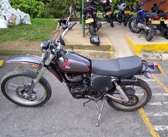 Yamaha Xt500 Gris