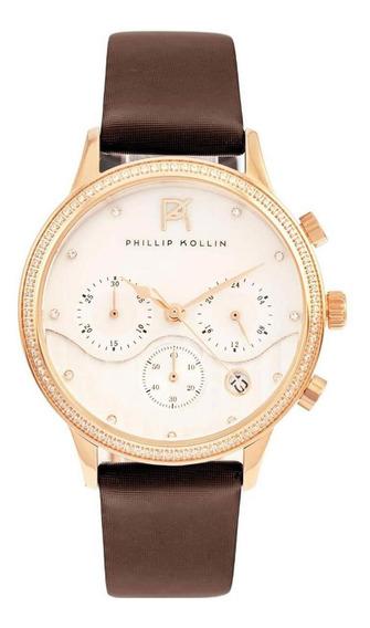 Relógio Feminino Phillip Kollin Zy28001z Barato Original