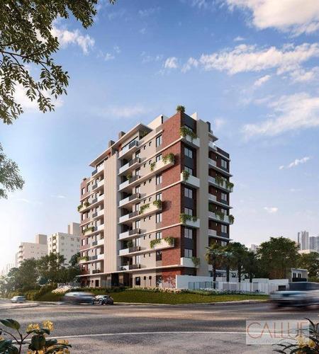 *apartamento Com 3 Dormitórios À Venda, 126 M² Por R$ 1.176.281 - Bigorrilho - Curitiba/pr - Ap0124