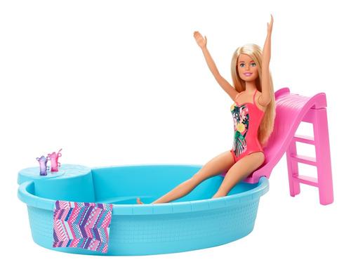Barbie Estate Alberca Y Muñeca Muñeco Para Niñas