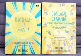 Livros Milagre Da Manhã + Para Se Tornar Um Milionário / Kit
