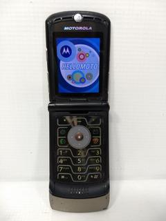 Celular Motorola V3 Chip Funcionando Desbloqueado Antigo