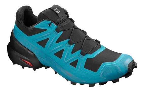 Tenis Salomon Speedcross 5 Aqua Hombre Original - Run24