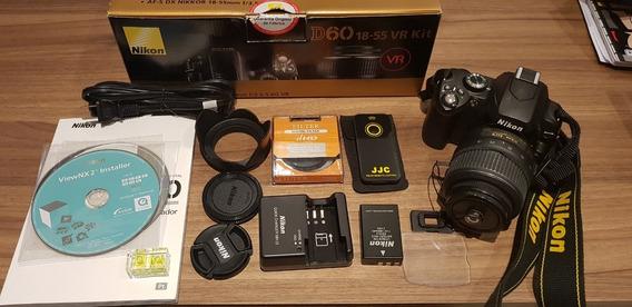 Câmera Digital Nikon D60 18-55 Vr Kit