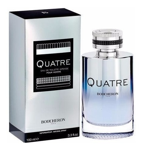 Perfume Quatre Intense Homme Boucheron 100ml - Selo Adipec