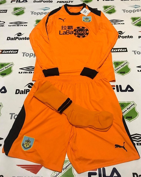 Kit Oficial Goleiro Burnley- Ing ( Camisa/ Short / Meião )