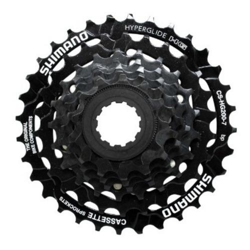 Imagen 1 de 4 de Piñon Para Bicicleta Shimano Cs Hg200 7 V 21 Vel Casette