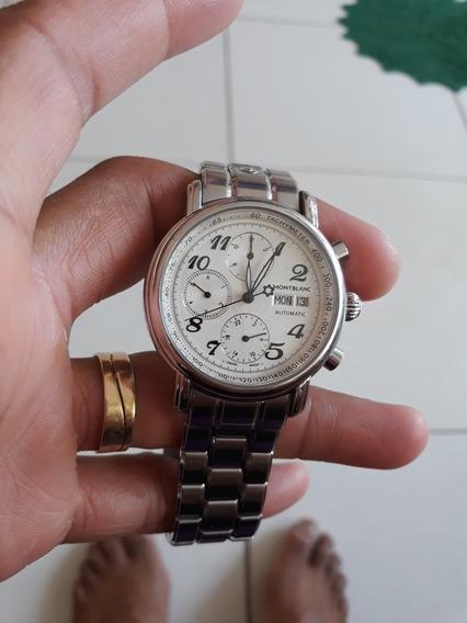 Relógio Mont Blanc Meisterstuck Automático Original. Soberbo