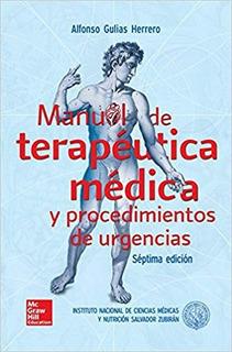Envío Gratis. Zubirán. Manual De Terapéutica Médica 7ed