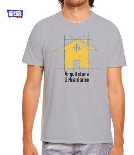 Camiseta Blusa Faculdade Curso Arquitetura E Urbanismo