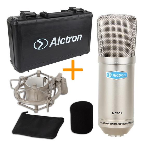 Micrófono Condenser Alctron Mc001 Estudio Profesional Full