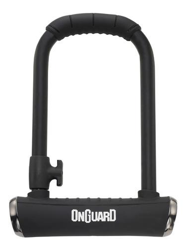 Imagen 1 de 5 de Candado Bicicleta Onguard Brute Std 8001 - U Lock
