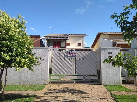 Sobrado Com 3 Dormitórios Para Alugar, 138 M² Por R$ 2.200,00/mês - Jardim Bela Vista - Indaiatuba/sp - So0182