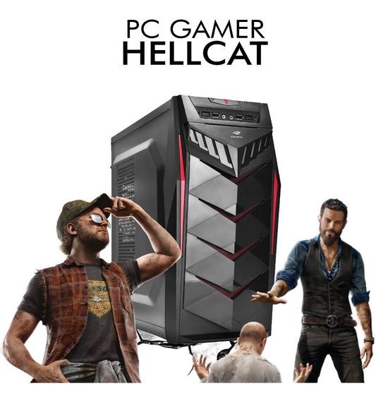Pc Gamer Hellcat - Intel Pentium G5400, Gt 1030 2gb, 1tb, 8g