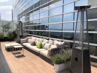 Imagen 1 de 14 de Penthouse Con Terraza En Venta  En Santa Fe Mediterranea