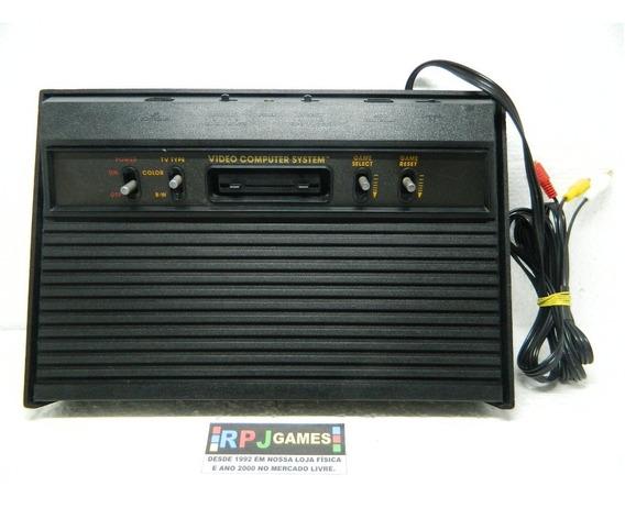 Atari Polyvox So Console C/ Fonte E Adaptação Av S/ Controle