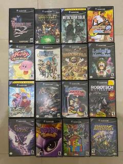 Juegos De Nintendo Game Cube (leer Descripción)