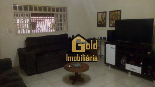 Casa Com 2 Dormitórios À Venda, 100 M² Por R$ 299.600 - Residencial E Comercial Palmares - Ribeirão Preto/sp - Ca0592