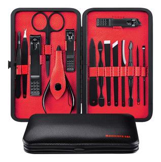 Manicura Set 15 Kit De Manicure Y Pedicure Acero Inoxidable
