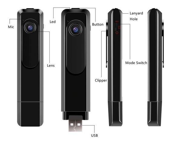 Câmera Espiã Full Hd C18 Mini - Veja O Vídeo Do Anúncio