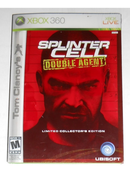 Splinter Cell Double Agent Limited Edition Xbox 360 & One