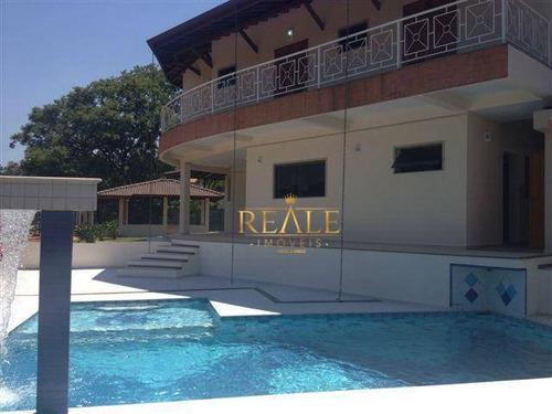 Casa Com 4 Dormitórios À Venda, 437 M² Por R$ 2.200.000,00 - Condomínio Estância Marambaia - Vinhedo/sp - Ca1423