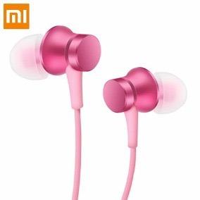 Fone De Ouvido Xiaomi Mi In-ear Basic Rosa - Pronta Entrega