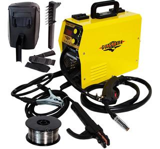 Soldadora Microalambre Inversora Electrodos 120 Luz Y Gas