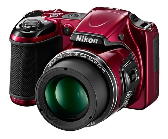 Camara Nikon L820 16mp 30x Optico En Caja + Sd 4gb + Bateria