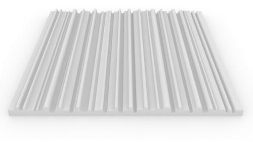 Imagen 1 de 7 de Pack X5 Placas Acústicas Premium Ignifugas 61x61cm X30mm