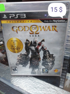 God Of War (saga Completa) Playstation 3. Somos Tienda .