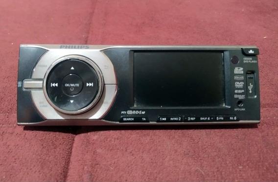 Frente Dvd Automotivo Philips Ced 228 - Usada Não Testada