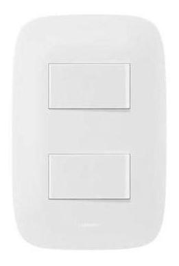 Interruptor Conmutable Doble Gálica 2 Blanca X 9 Und