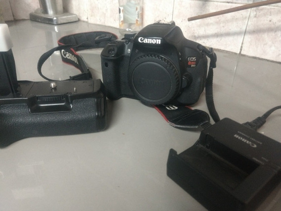 Body Canon T4i, Con Accesorios + Lente Canon 55-250mm