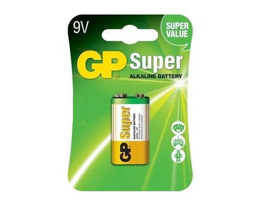 10 Pilhas 9v Gp Blister Individual