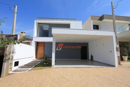 Casa Residencial À Venda, Nova Pompéia, Piracicaba. - Ca0413