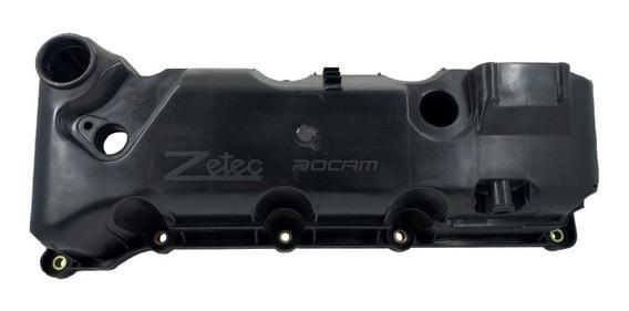 Tampa De Valvula Ford Zetec Rocam Flex 2s6g6m293a1a Com Furo