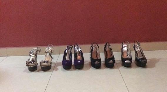 Zapatos Tacon Altos Qupid Como Nuevos