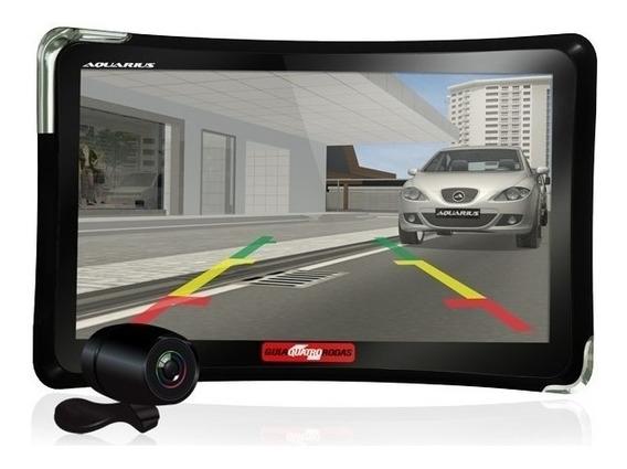 Gps Automotivo 7 Camera De Ré Tv Digital Alerta Radar Touch