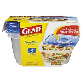 Clo70045 - Gladware Plastic Entree Contenedores
