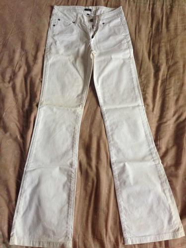 Pantalon Express Blanco Talle 30 Oxford