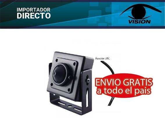 Mini Camara Oculta Pinhole Full Hd 2.0mp Espía Control Osd